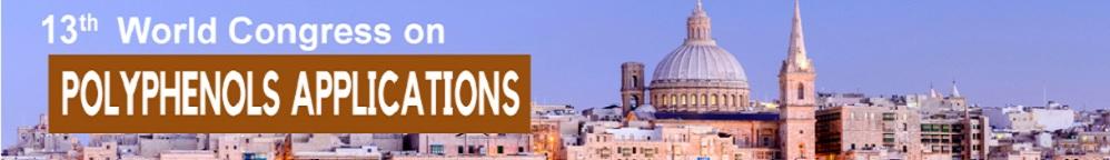 13th World Congress on Polyphenols Applications: Malta Polyphenols 2019