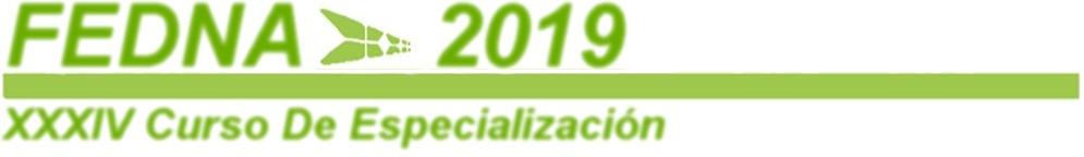 XXXV Curso de Especialización - FEDNA 2019