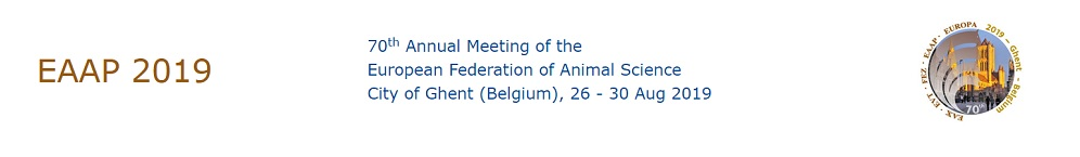 70th Annual Meeting of the European Federation of Animal Science