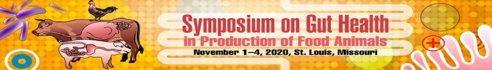 Symposium on Gut Health in Production of Food Animals 2020