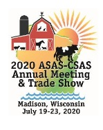 2020 ASAS-CSAS Annual Meeting and Trade Show