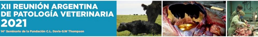 XII Reunión Argentina de Patología Veterinaria 2021