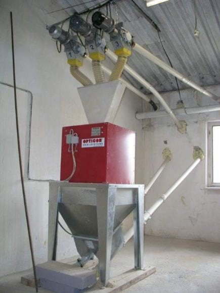 Fed weigher - Poultry equipment