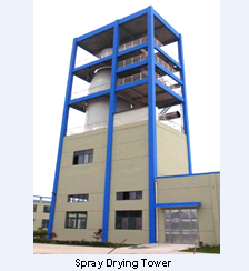 Factory picture:Spray drying tower - Rota Bio Picture