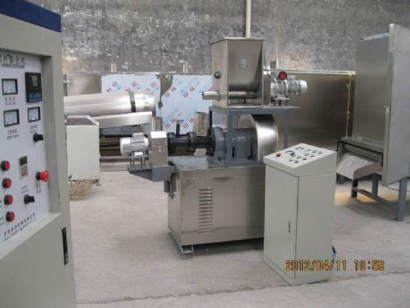 Small Fish Food Extruder - Fish food extruding machinery