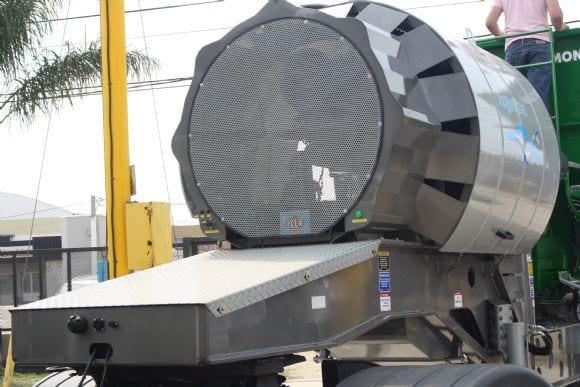 Mixer de 22 m3 - MH 22MR-S - Motor - Presentación de 2 nuevos Mixers Montecor