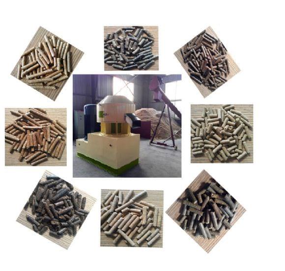 wood pellet mill - pellet production line