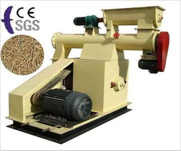 flat die feed pellet mill - pellet production line
