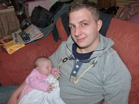 My self and daughter - Me