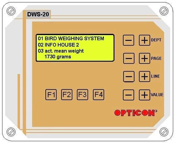 Bird weigh computer - Poultry equipment