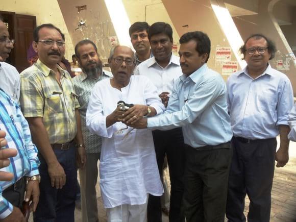 Environment olypmyed at Rajshahi - Dr Arif