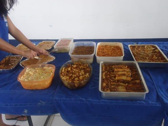 almoço realizado todos os meses no grupo - Marcio