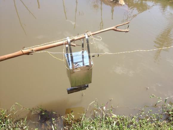 dispensador de comida para peces ref 29926