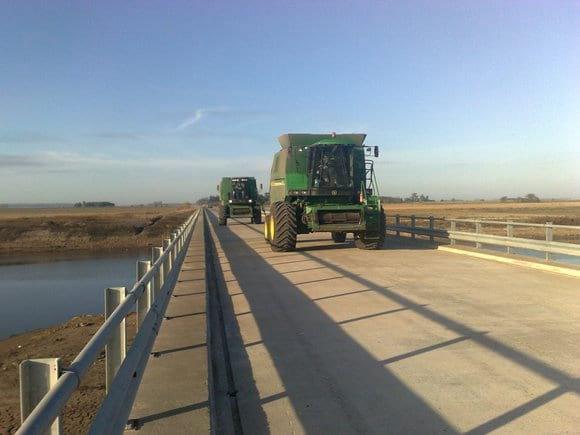 Puente obra del Salado entre Pila y Chascomús - Varias