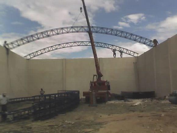 estructura para techumbre almacen de pastura para alimento de todo tipo de ganado - Varias