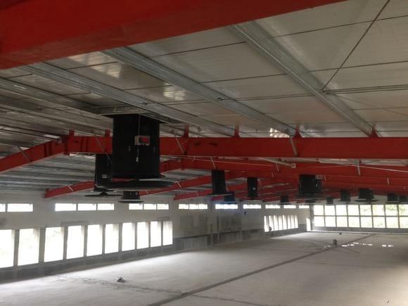 fans - Chicken pig cow ventilation control