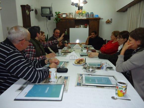 1era Reunion de Grupo AVICAR BOLIVAR - CHARLAS AVÍCOLAS
