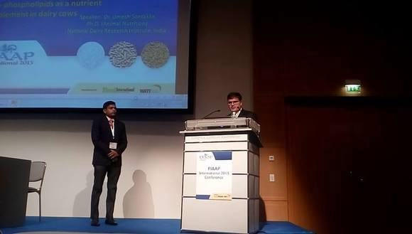 Gauging the potential of rice bran lyso-phospholipids as a nutrient supplement in dairy cows - FIAAP international conference, Germany