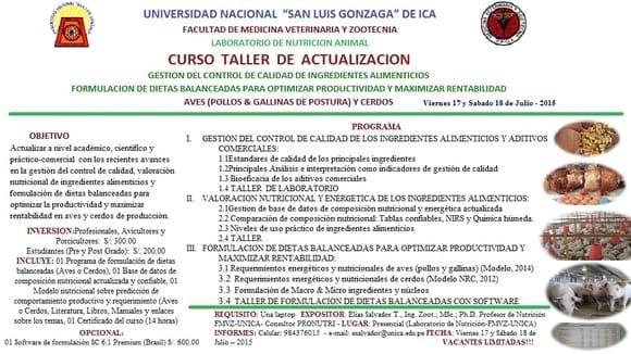 CURSO TALLER DE ACTUALIZACION - Varias