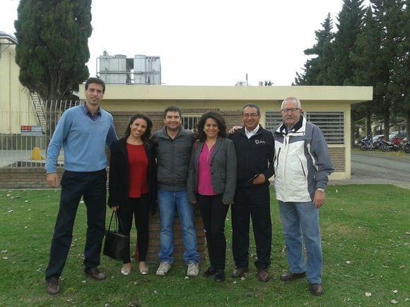 ALINAT y JEFO en Roth - Visita a las instalaciones de Roth Hnos en Macia, Entre Ríos, junto a Emerson Roth y al equipo técnico para Latinoamérica de JEFO.
