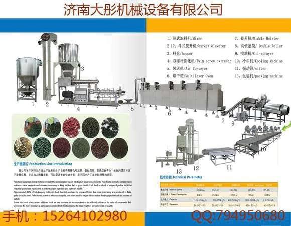800-1000kg/h catfish feed pellet making machine - Various