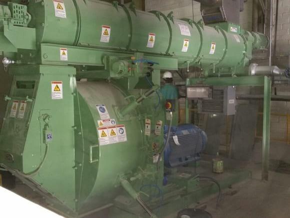 pellet 7730 8 300 hp - NUEVA LINEA PELLETIZADO 3 mm  20 t/hALAIGRO - Armenia