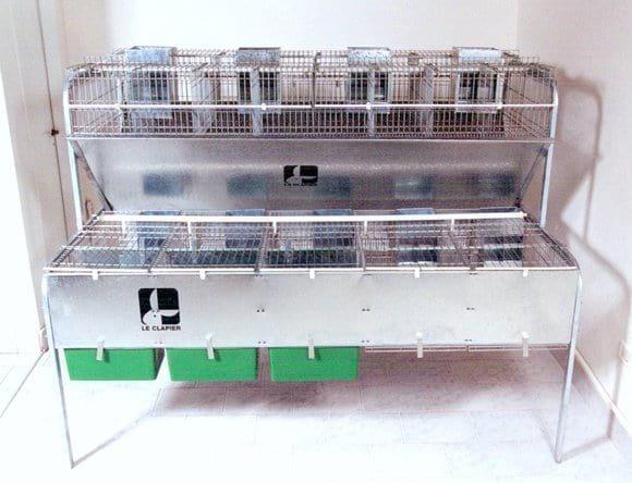 Jaulas MATERPLUS - Criadero de conejos
