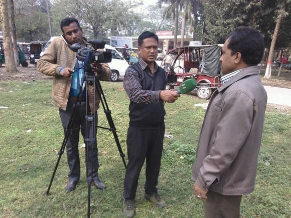 Television Media talk about recent nature crisis in Rajshahi, Bangladesh - Casos clínicos