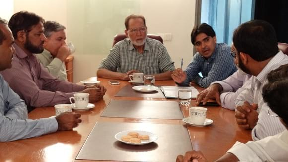 Executive meeting of Pakistan Agriculture Scientists Forum - Clinical issues