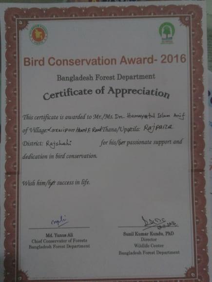 Birds Award - Casos clínicos