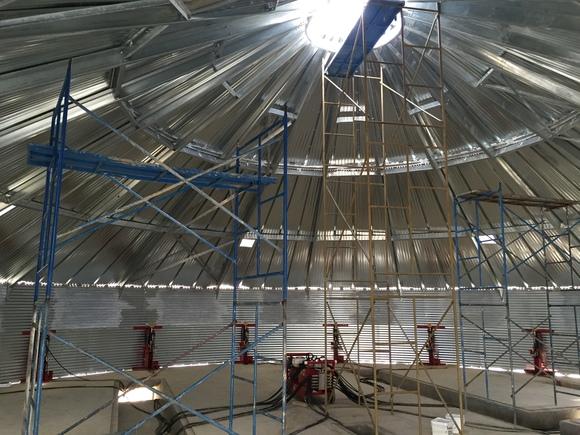 Interior de Silo - Proyectos en construcción