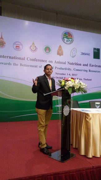 Research Paper Presentation - 2nd ANI-NUE2017 International Conference, Pullman Raja Orchid, Khon Kaen, Nov 1-4, 2017