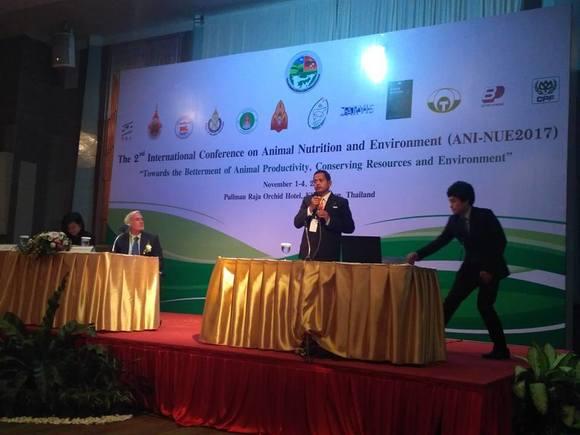 Presentation - 2nd ANI-NUE2017 International Conference, Pullman Raja Orchid, Khon Kaen, Nov 1-4, 2017
