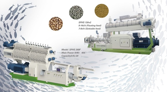 Processing and application of extruded sinking fish feed - Clinical issues