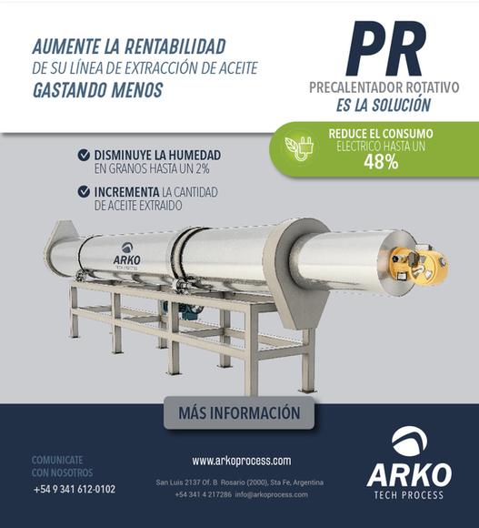 Optimice el proceso de extrusion prensado - Equipamiento agroindustrial