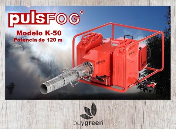 Nuevo termonebulizador K-50 - TERMONEBULIZADORES