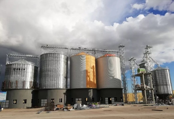 Automatic grain drying production line - Clinical issues