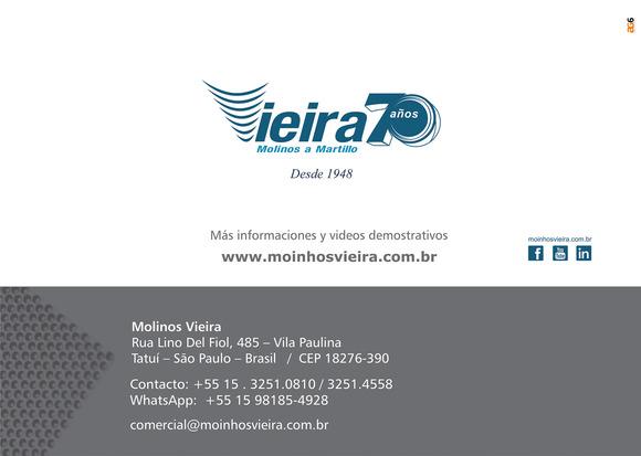 Contacto - Molinos Vieira - Cribas para Balanceados