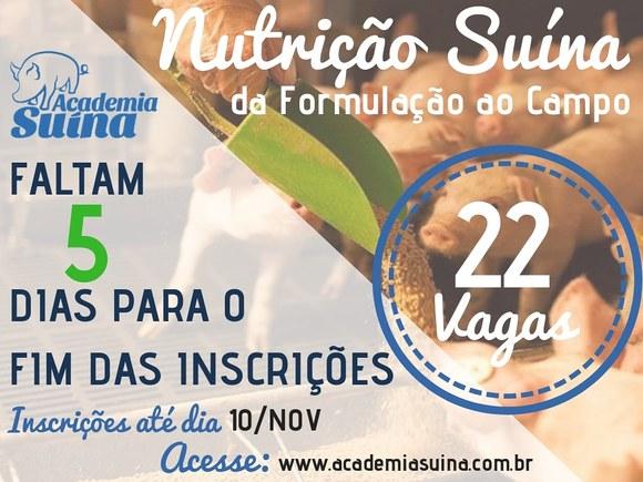 Nutrição Suína: da formulação ao campo - Eventos