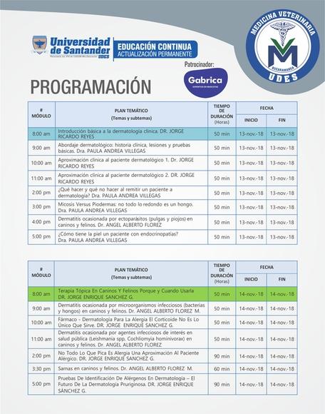 Temas a ser dados en el seminario de Dermatología - Eventos