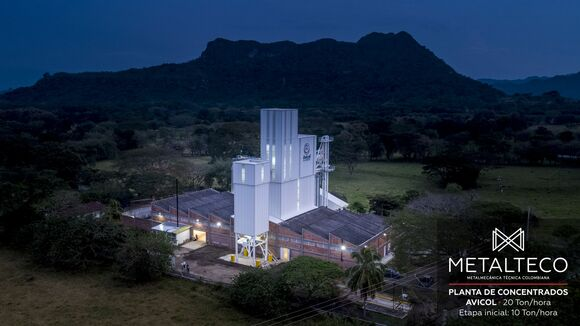AVICOL PLANTA DE CONCENTRADOS 20 THR - Planta de concentrados 20 Thr - Primer etapa 10 Thr