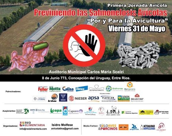 """Primera Jornada Avícola """"Previniendo las Salmonelosis Avícolas"""" bajo el lema Por y para la Avicultura. - Eventos"""