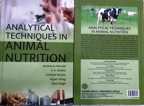 Analytical Techniques in Animal Nutrition - Personal