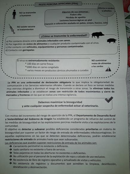 Peste Porcina Africana - Casos clínicos