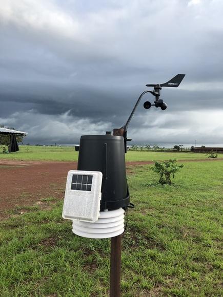 Estacion Metereológica en Empresa Ganadera Vichada - fotos ganaderias