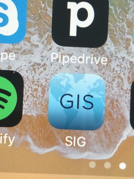 GIS app para subir el mapa - fotos ganaderias