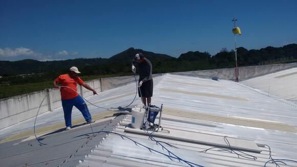 Impermeabilização com redução de temperatura - Impermeabilização Inovadora com envelopamento.