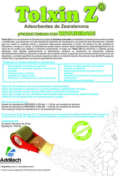 Tolxin Z - Casos clínicos