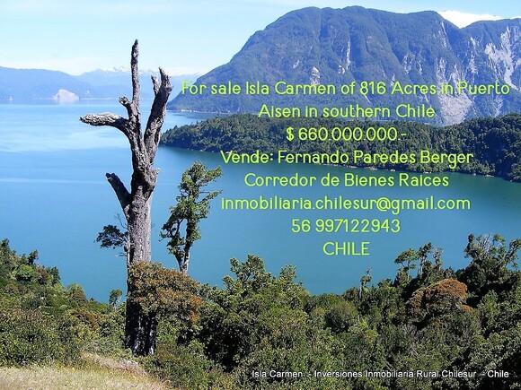 Vendo Isla en el sur de Chile - Mi actividad