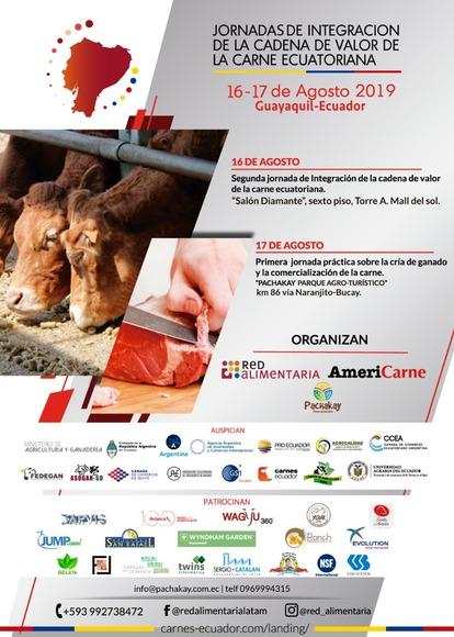 Segunda Jornada de Integración de la cadena de valor de la carne Ecuatoriana - Americarne